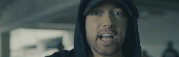 Eminem precies tien jaar 'clean'