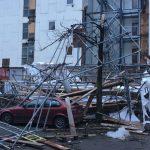 Storm: ravage in de hoofdstad, trams rijden niet meer