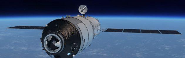 Chinees ruimtestation stort neer in Europa