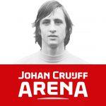 Dit is het nieuwe logo van de Johan Cruijff Arena