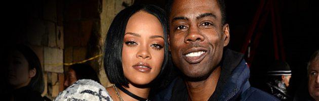 Rihanna gooide Chris Rock in de 'uncle zone'