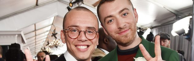 Logic doet remix voor slowjam 'Pray' van Sam Smith