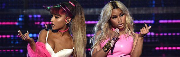 Ariana werkt weer met Nicki Minaj voor 'Sweetner'