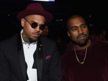"Chris Brown: ""Kanye West is een CLOWN"""