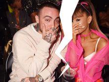 Ariana Grande reageert op dood Mac Miller