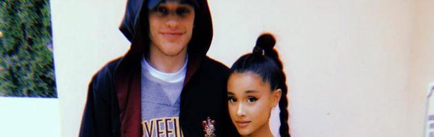 Ariana Grande en Pete Davidson voor het eerst op de foto