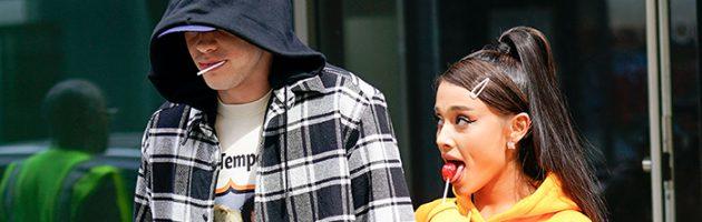 Pete Davidson praat over zijn relatie met Ariana Grande