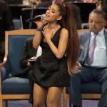 Ariana Grande eert Aretha Franklin op begravenis