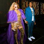 Man rent achter Beyonce en Jay-Z aan op podium OTR II