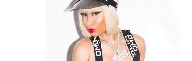 Nicki Minaj treedt op tijdens VMAs 2018