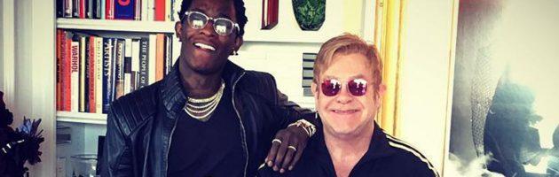 Young Thug remixed 'Rocket Man' van Elton John