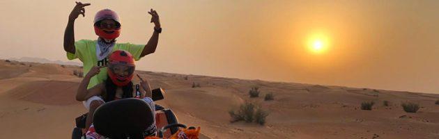 Nicki Minaj en Lewis Hamilton op vakantie in Dubai