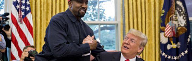 Kanye West luncht met Trump in Witte Huis