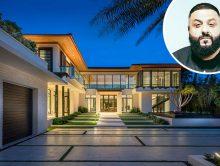 Khaled koopt miljoenenhuis aan het strand
