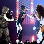 Ciara en Missy Elliott doen 'Level Up' bij AMAs