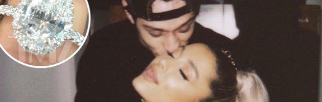 Ariana Grande brengt peperdure verlovingsring terug