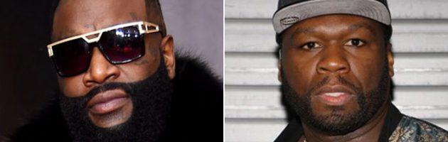 Rechter veegt claim 50 Cent tegen Rick Ross van tafel
