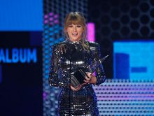 Taylor Swift grote winnares American Music Awards 2018
