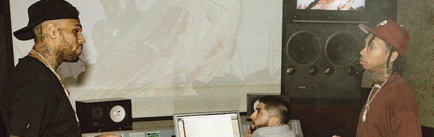 Tyga teased nieuwe samenwerking met Chris Brown