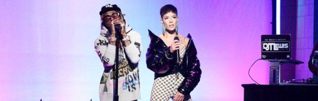 Lil Wayne doet 'Can't Be Broken' en 'Uproar' live bij SNL