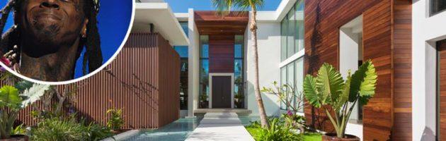 Lil Wayne's nieuwe Miami Beach huis van 17 miljoen
