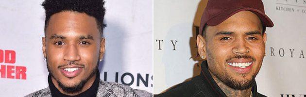 Trey Songz werkt met Chris Brown op Chi Chi