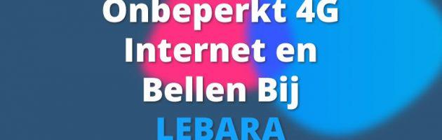 Lebara biedt 5GB data + onbeperkt bellen voor maar €10,-