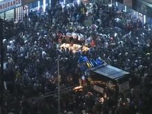 Chaos na steekpartij herdenking Nipsey Hussle