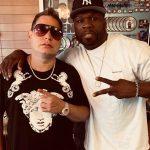 50 Cent in de studio met Dre en Scott Storch