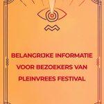 Pleinvrees Festival 2019 afgelast