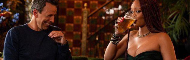 Rihanna zwaar aan de alcohol