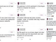 Rapper Anne Frank blijft schijt hebben