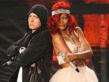 """Eminem reageert op Rihanna-diss: """"Ik bedoelde het niet zo"""""""
