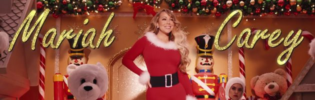 Mariah Carey met nieuwe clip 'All I Want For Christmas'