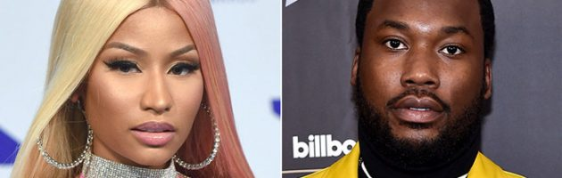 Felle ruzie Meek Mill en Nicki Minaj in Hollywood