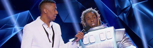 Lil Wayne als robot in The Masked Singer