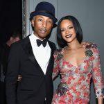 Rihanna in de studio met The Neptunes