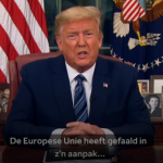 Trump verbiedt Europeanen in Amerika