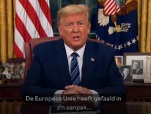 Trump verbiedt Europeanen in Amerika