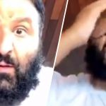 DJ Khaled krijgt pikant showtje tijdens Instagram Live