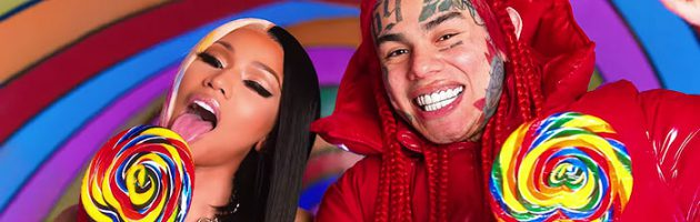 6ix9ine en Nicki Minaj doen het samen op 'Trollz'