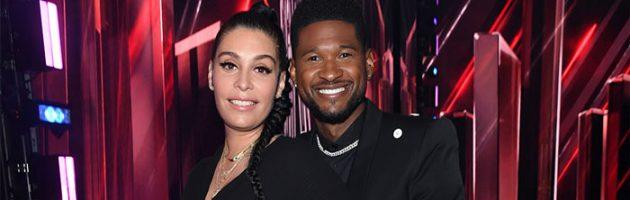Vriendin Usher opnieuw in verwachting