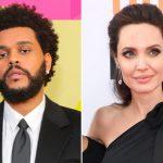 The Weeknd en Angelina Jolie samen gespot