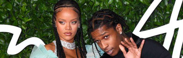 Gaan A$AP Rocky en Rihanna binnenkort trouwen?