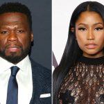 50 Cent wil met Nicki Minaj zoenen