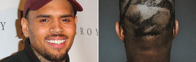 Chris Brown lacht om Kanye's nieuwe kapsel