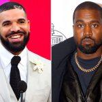 Drake ontvolgt Kanye West op social media